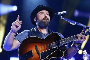 Zac Brown of the Zac Brown Band performs at LP Field at the CMA Music Festival on Friday, June 12, 2015, in Nashville, Tenn. (Photo by Al Wagner/Invision/AP) The band will play the Saratoga Performing Arts Center on  ORG XMIT: MER2015061302083458
