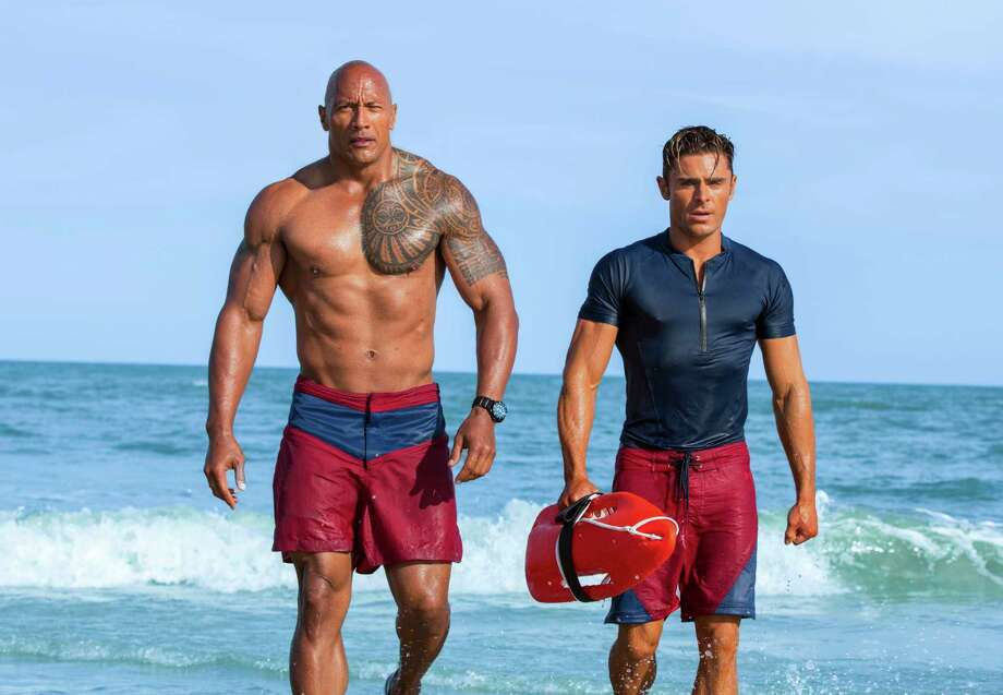Devoted lifeguard Mitch Buchannon butts heads with a