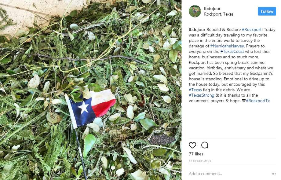 Social media reactions from the Coastal Bend. Photo: Instagram