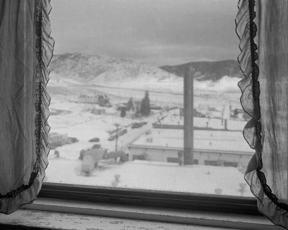 """Alec Soth's """"Franks View, 2008,"""" was inspired by a Robert Frank photo from """"the Americans."""" Photo: Alec Soth, Courtesy Fraenkel Gallery, �Alec Soth / Magnum Photos"""