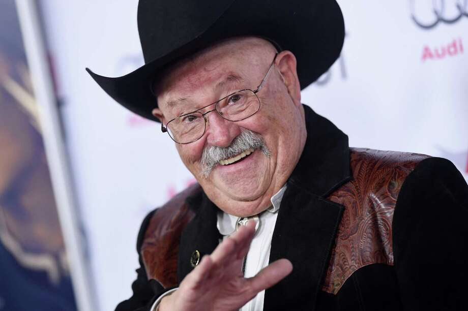 "Prolific movie and TV actor Barry Corbin spent the morning filming scenes for the college romp ""The Margarita Man"" in downtown San Antonio. He's seen here at a 2014 gala screening of the motion picture ""The Homesman."" Photo: Getty Images /FilmMagic / 2014 Axelle/Bauer-Griffin"