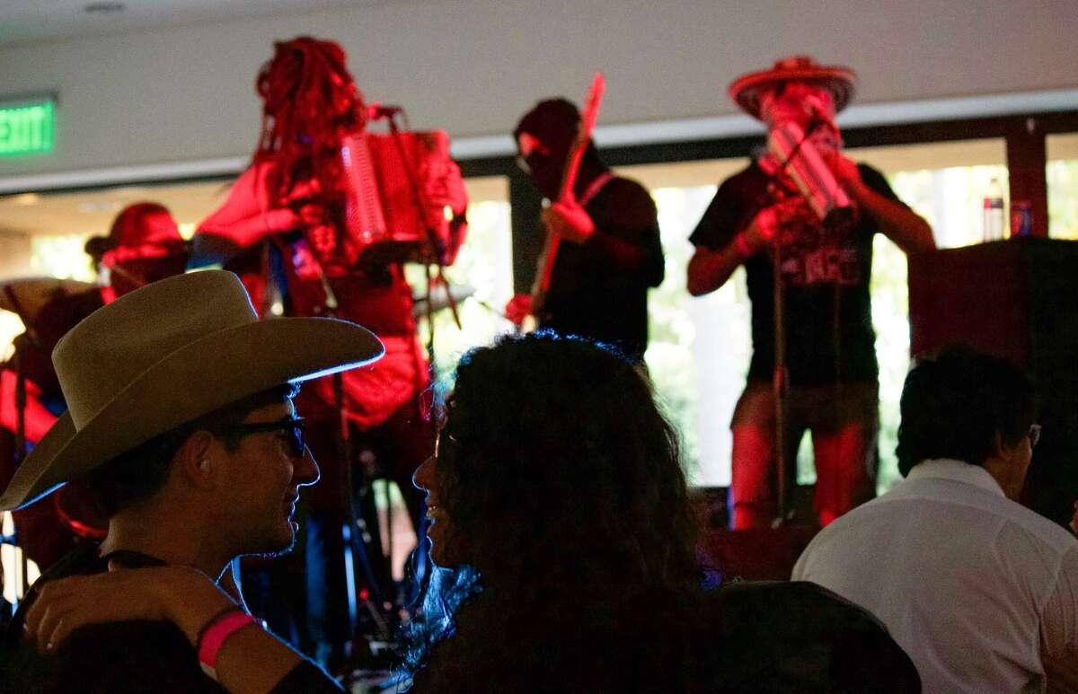 La Diabla, a cumbia band from Tijuana, performed at the 2016 Sonido Clash Music Festival.