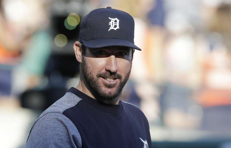 Detroit Tigers starting pitcher Justin Verlander on July 5, 2017, in Detroit. (AP Photo/Carlos Osorio) Photo: Carlos Osorio/AP