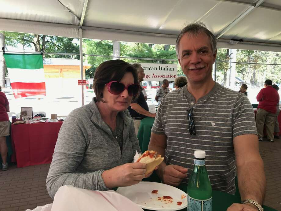 Were you seen at Italian American Heritage Day at Saratoga Race Course on Wednesday, August 30, 2017? Photo: Karissa DeLuca