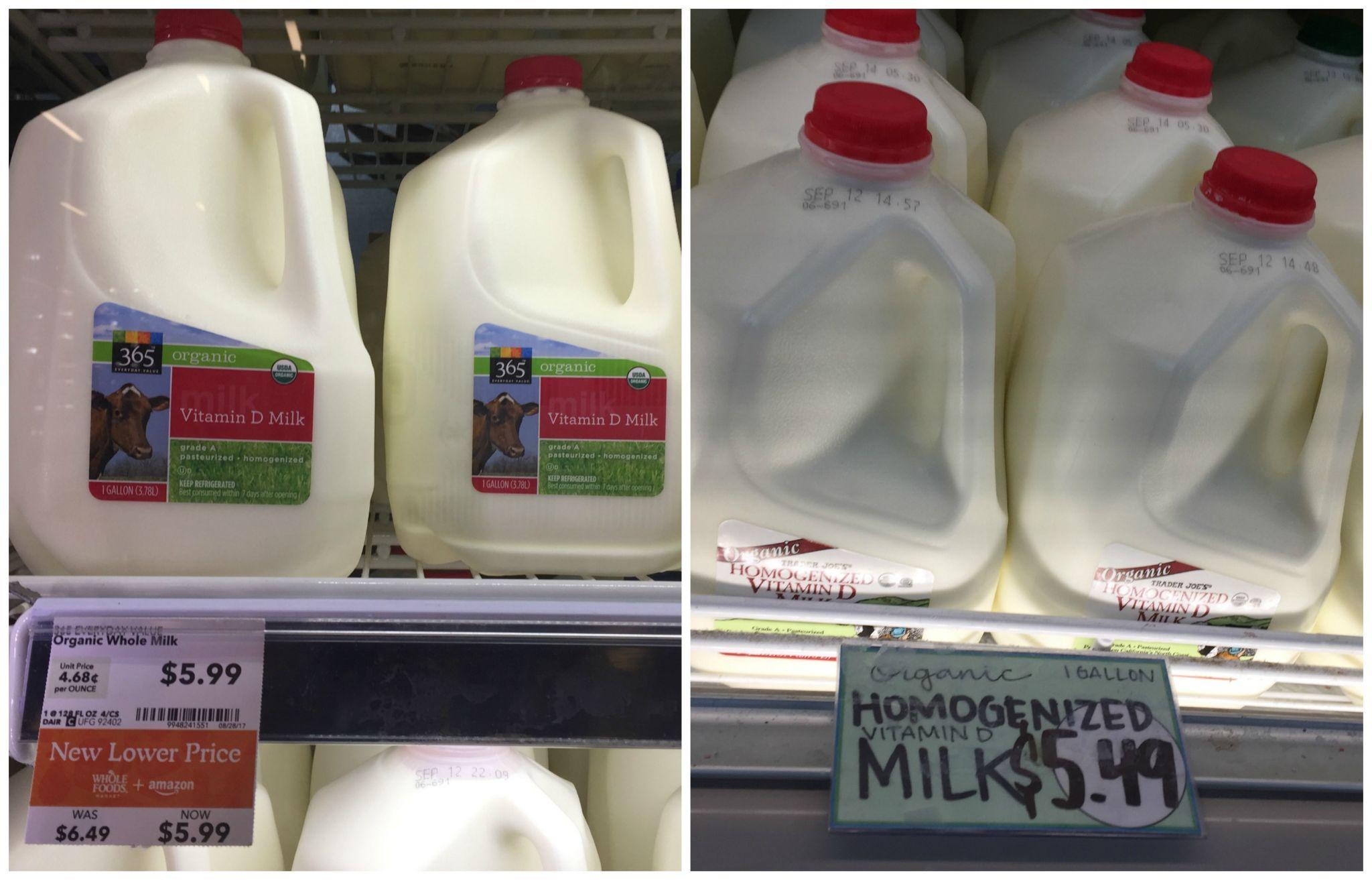 Trader Joes Versus Whole Foods