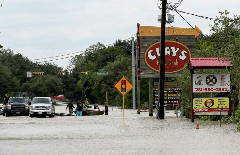 Sept. 15Clay Road and North Eldridge Parkway north of Clay Road Photo: Jon Shapley, Houston Chronicle / © 2017 Houston Chronicle