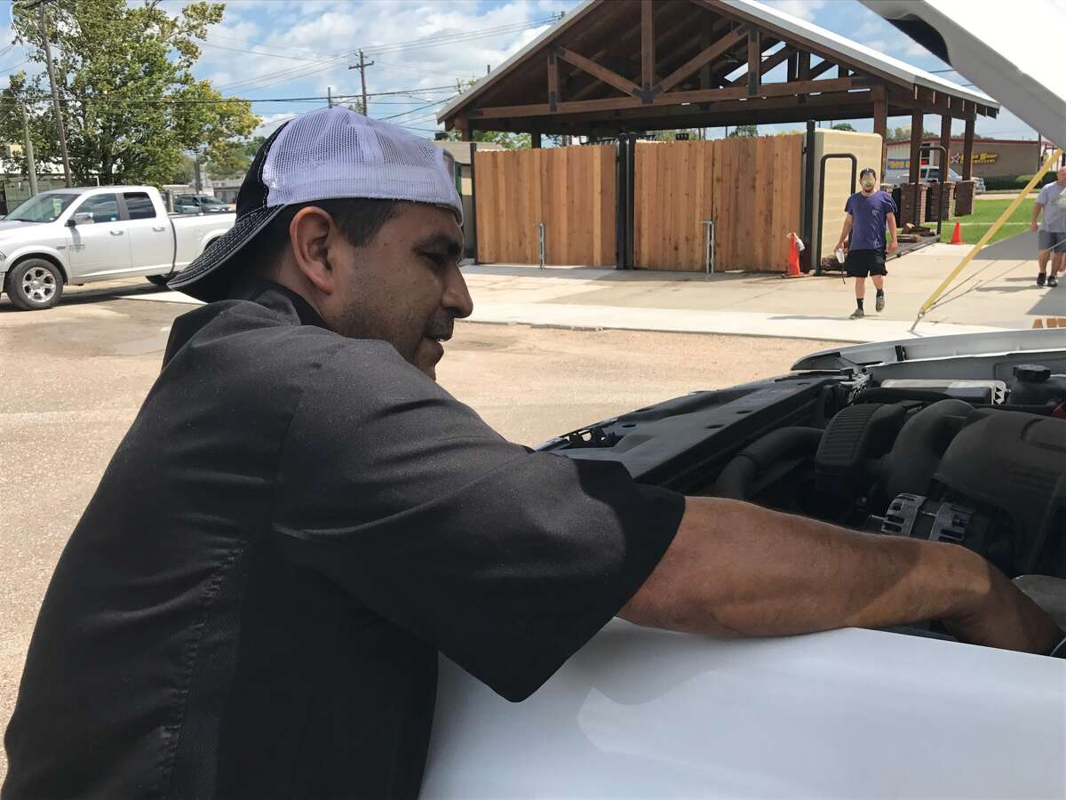 Torres cooked through Hurricane Harvey's floods - keeping the BBQ fires burning