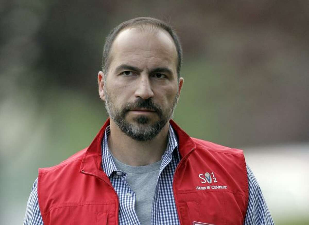 Dara Khos rowshahi, who has taken over as CEO of Uber, said at a staff meeting that the company could go public in as soon as 18 months.