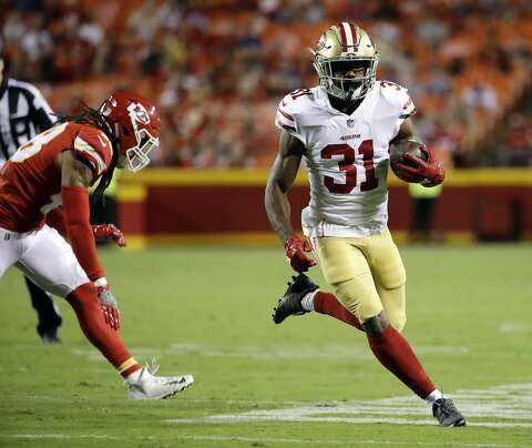 outlet store 26b18 70bbc 49ers RB Mostert making late run for roster spot - SFGate