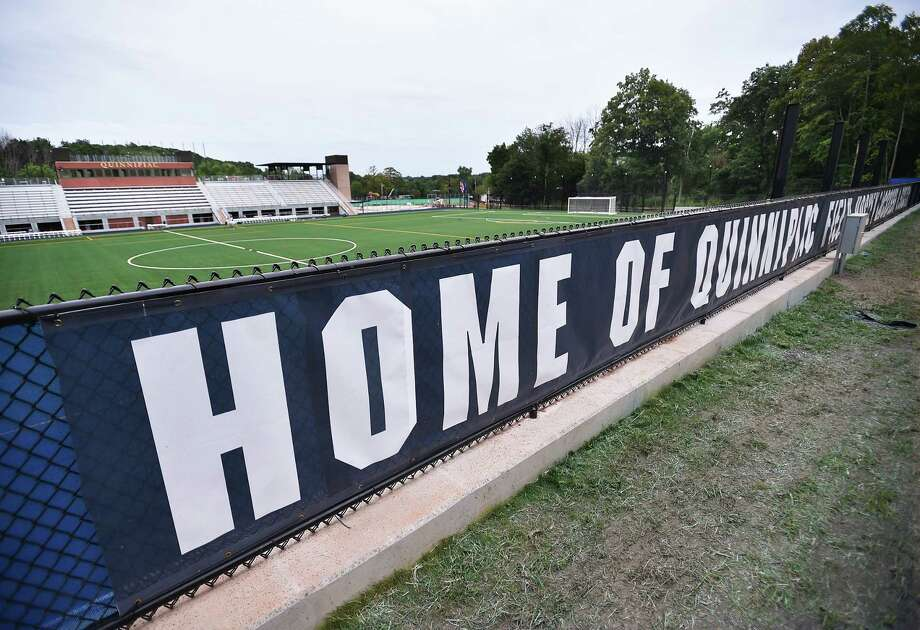 Images of Quinnipiac University's two new athletic facilities as seen, Tuesday, August 29, 2017, at the Mount Carmel Campus in Hamden. The women's and men's soccer and lacrosse teams' stadium features an infilled synthetic turf which seats 1,500 spectators. The second facility features an artificial turf for the women's field hockey team and seats up to 500 fans. Photo: Catherine Avalone, Hearst Connecticut Media / New Haven Register