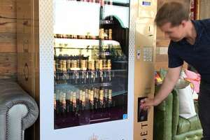 Paramour lays claim to the first of its kind champagne vending machine in Texas.