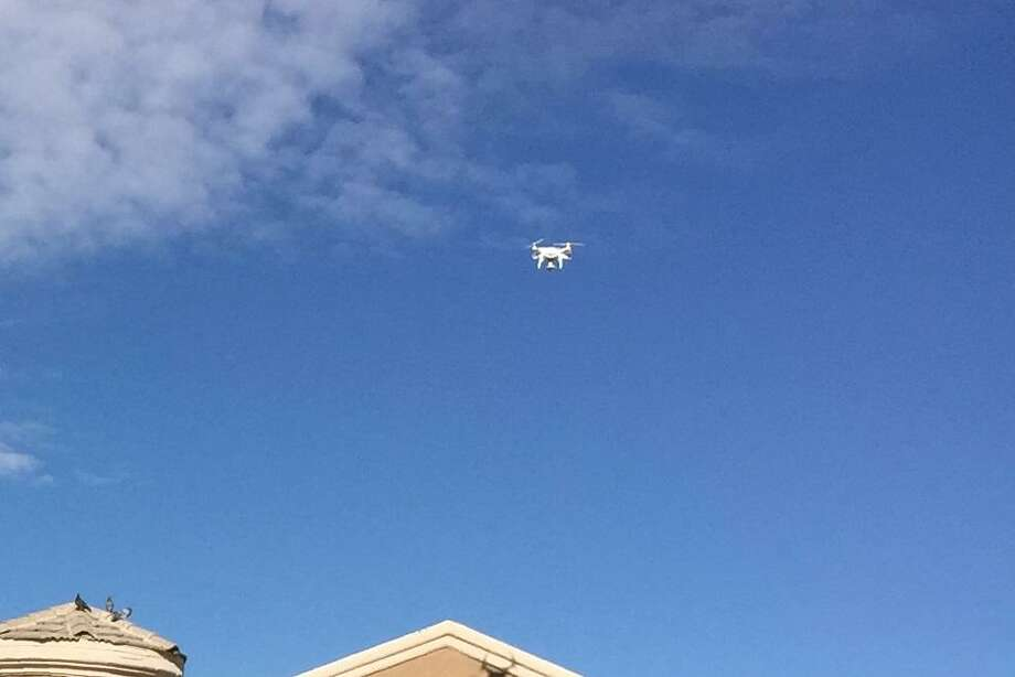 San Antonio-based insurance and financial services giant USAA, for example, is deploying drones with pilots and adjusters to assess claims in the wake of Hurricane Harvey's destruction, said Kristina Tomasetti, strategic innovation director at USAA, on Tuesday. Photo: Courtesy Of USAA