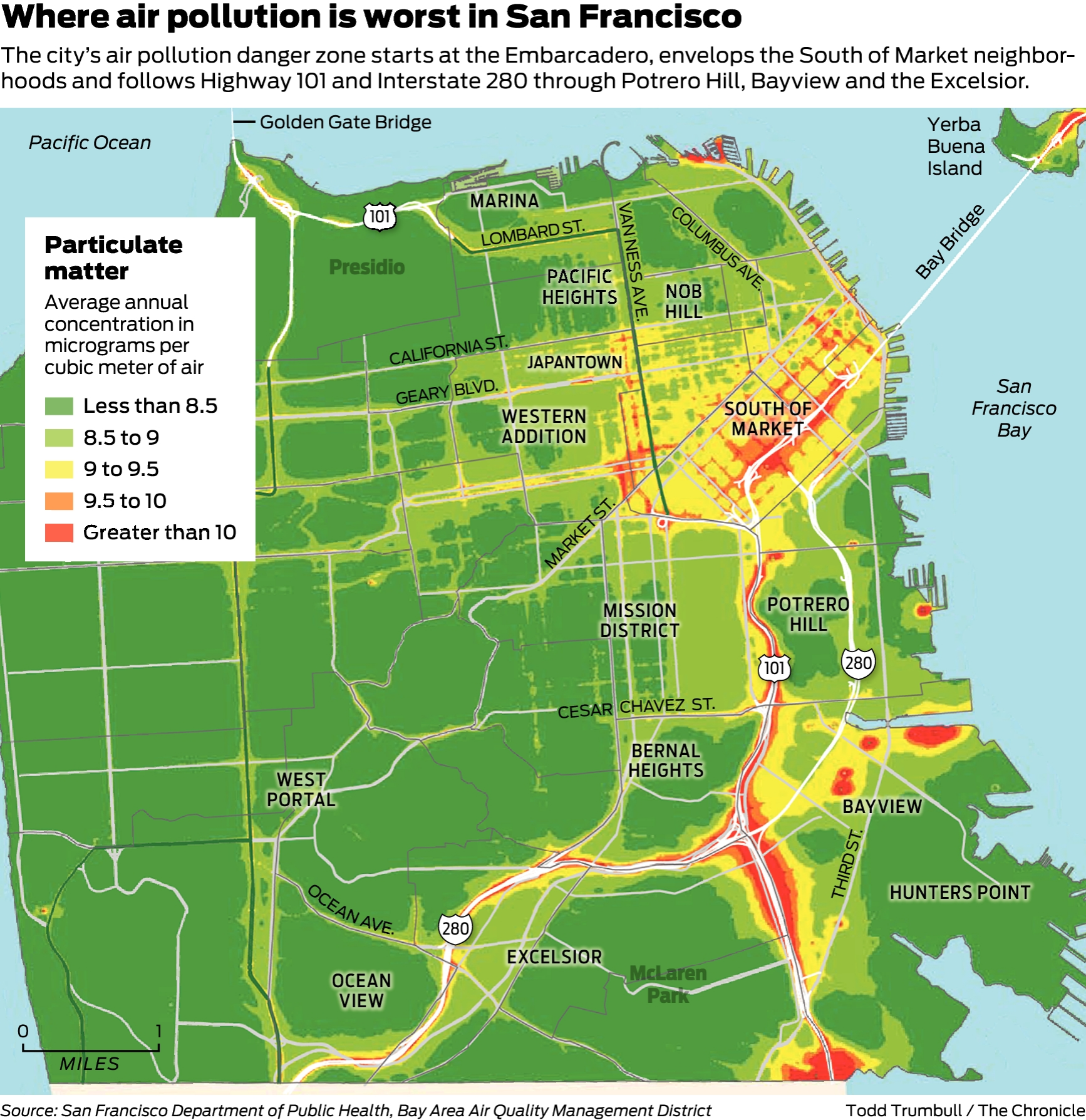 Map shows which SF neighborhoods are hit hardest by air ... on palo alto, southern california, alameda county, kyoto area map, sonoma county, santa clara county, east bay, northern california, golden gate bridge, cupertino area map, pacific coast area map, san diego, downtown san jose area map, evansville area map, napa valley area map, san jose, orange county, san mateo county, antioch area map, oceanside area map, southern arizona area map, rhode island area map, silicon valley, saint paul area map, oakland area map, santa clara, new london area map, santa rosa, brooklyn college area map, springfield ma area map, bay area map, marin county, california map, city area map, johns creek area map, central fl area map,