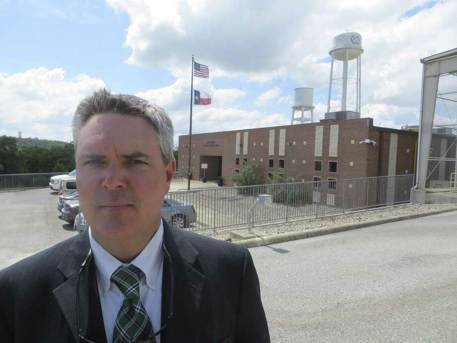 A population drop at the Kerr County Juvenile Detention Center mirrors a national trend of fewer suspects being apprehended, Chief Juvenile Probation Officer Jason Davis said. Photo: Zeke MacCormack /
