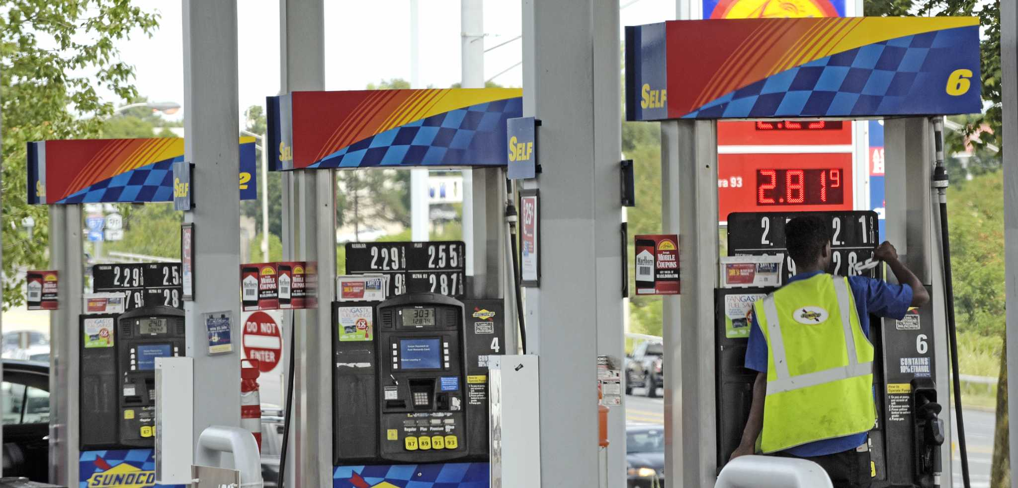 albany gas prices jump 12 cents in two days times union