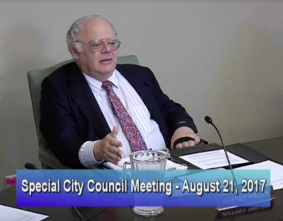 Former Mayor Jeff Wieler said that he had become a distraction for the city and wanted to do the right thing. Photo: Screen Grab/City Of Piedmont / Screen Grab/City Of Piedmont