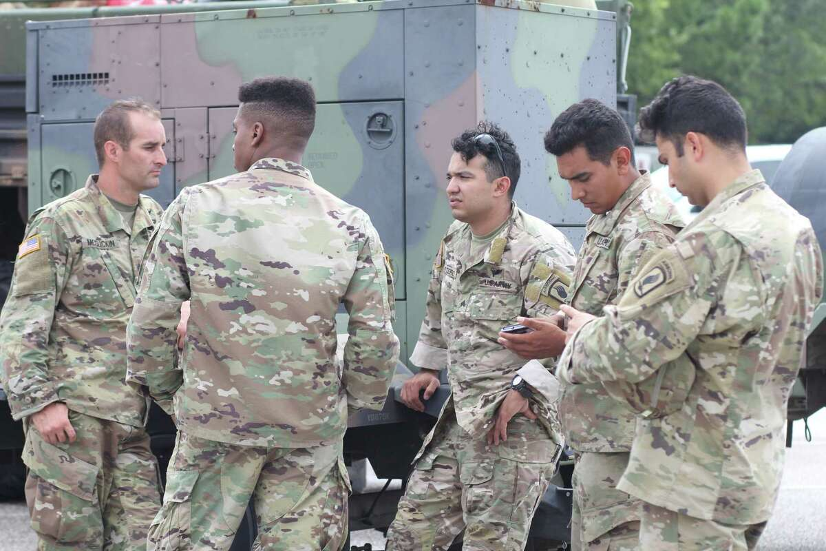 14,000: Number of Texas National Guard troops deployed so far
