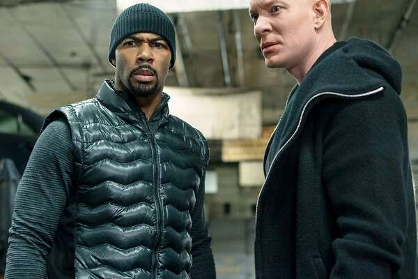 "Omari Hardwick (left) and Joseph Sikora stars in the Starz series ""Power,"""