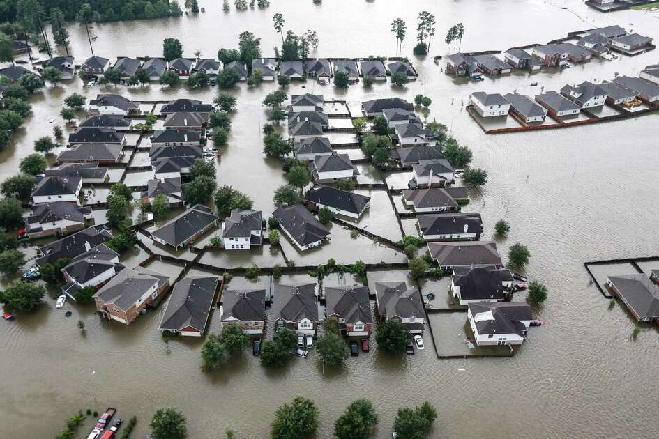 A neighborhood is inundated by floodwaters from Tropical Storm Harvey on Tuesday, Aug. 29, 2017, in Spring. ( Brett Coomer / Houston Chronicle ) Despite suffering different damages to its campuses, Lone Star College System still plans on opening its doors next week.