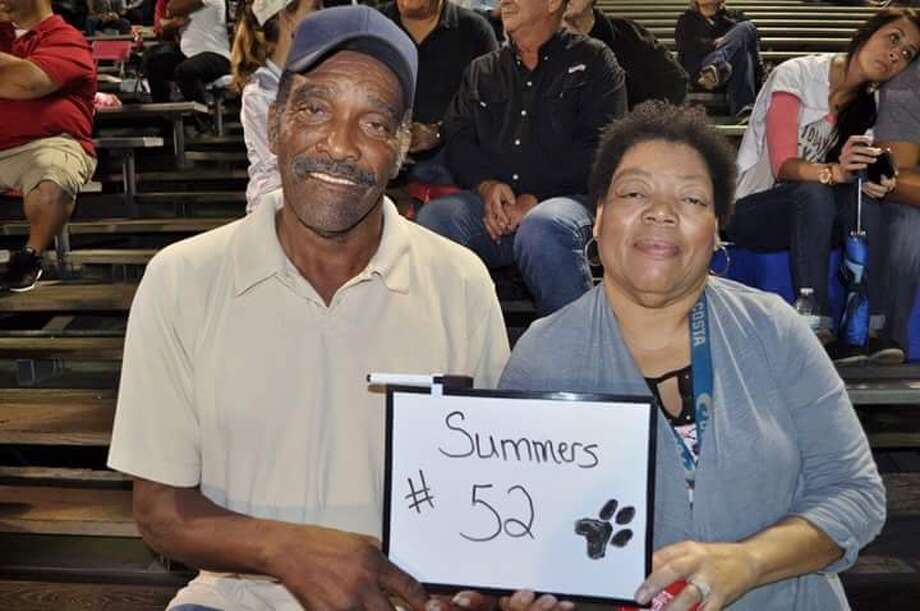 Donald Rogers and his wife, Rochelle Rogers. The couple died Wednesday after driving their car through floodwaters in Fulshear, Fort Bend County. Photo: Family Photo / Houston Chronicle