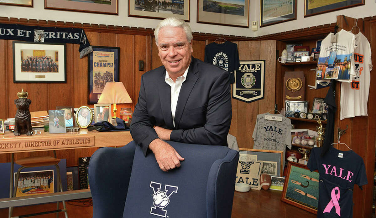 Photo by Michael Marsland Thomas Beckett, who is in his 24th year serving as director of athletics at Yale, will retire in June 2018, President Peter Salovey has announced.