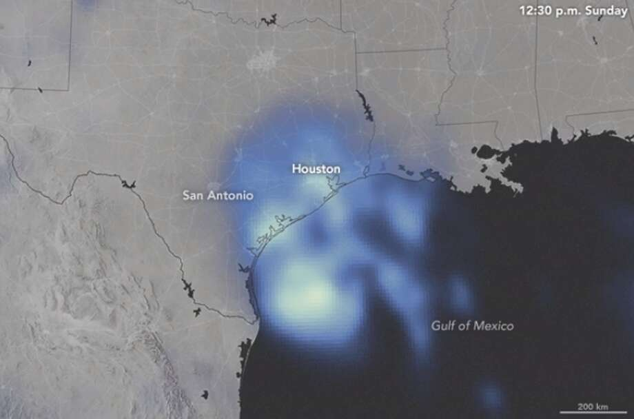 Photos: Harvey after HoustonA new NASA video shows how much rain fell on the Texas coast during Hurricane Harvey.See photos of the destruction and flooding caused by Harvey.