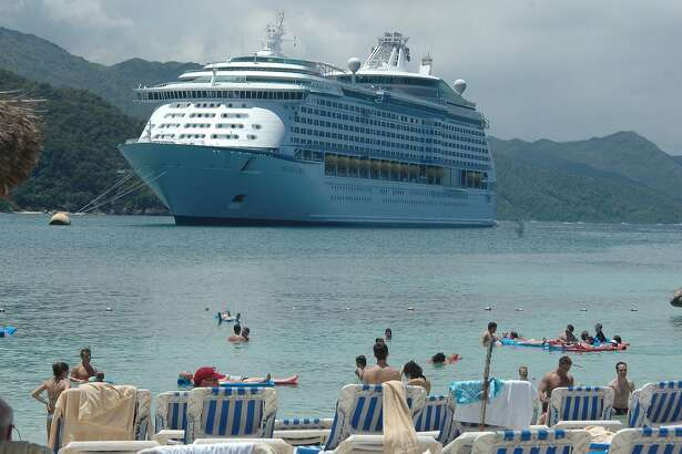 """Cruise passengers savor a """"private island"""" experience at Labadee, even though the secluded resort is actually on a peninsula in northern Haiti. Leased to Royal Caribbean International by the Haitian government, it's a popular stop on cruise itineraries operated by Royal Caribbean and Celebrity. credit: Joan Shattuck"""
