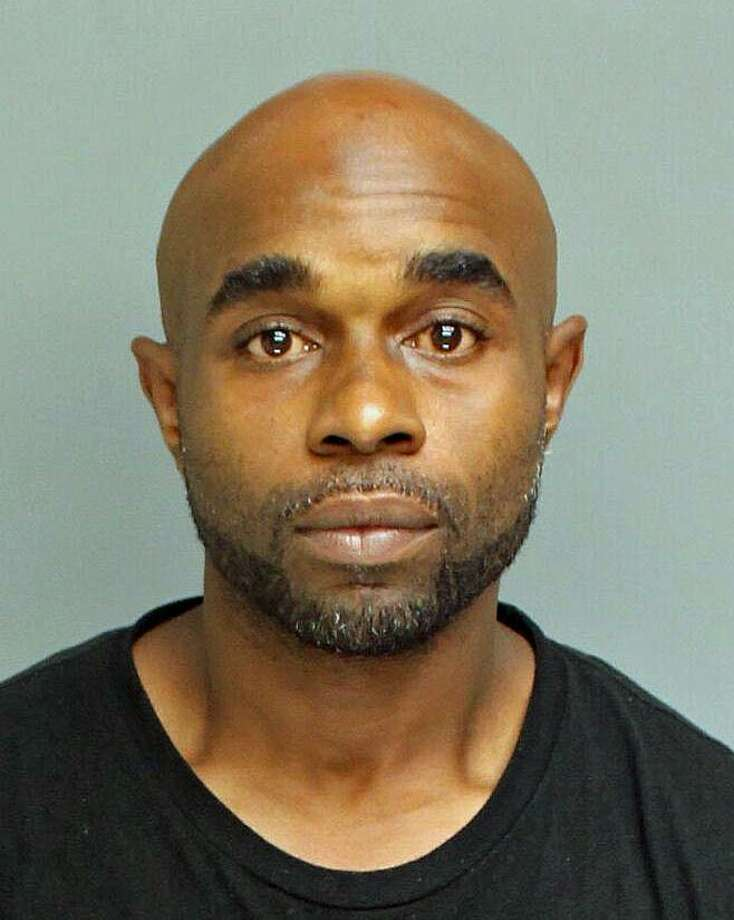 "Richard ""Steve"" Evans, 37, of Dogwood Avenue, surrendered to Bridgeport police Thursday morning after being told there was a warrant for his arrest. Evans was charged with murder, criminal possession of a firearm and carrying a pistol without a permit, police said. Photo: Contributed Photo / Bridgeport Police Department / Contributed Photo / Connecticut Post Contributed"