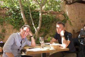 "Steve Coogan and Rob Brydon in Michael Winterbottom's ""The Trip to Spain."" MUST CREDIT: Rory Mulvey, IFC Films"