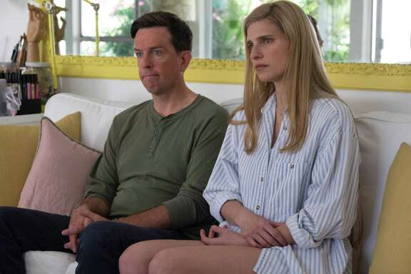 "Ed Helms and Lake Bell star in ""I Do ... Until I Don't,"" which Bell wrote and directed."