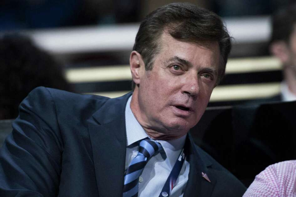 Paul Manafort on July 19, 2016, on the floor of the Quicken Loans Arena at the Republican National Convention in Cleveland, Ohio.