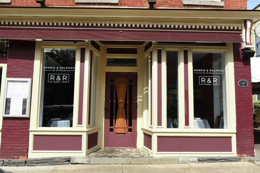 Exterior of R&R Kitchen + Bar on Phila Street in Saratoga Springs on Aug. 28, 2017.
