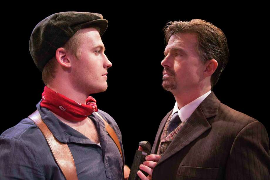 "Grekov (Troy Beckman) and Mikhail (Joel Sandel) in Main Street Theater's ""Enemies"" which opens Sept. 10 through Oct. 15."