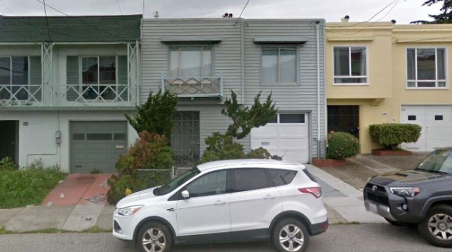 Outer Sunset tenants Danielle Phillips and Paul Kelly lived in a two-bedroom house (center)—until their landlord more than tripled their rent. Photo: Google Maps