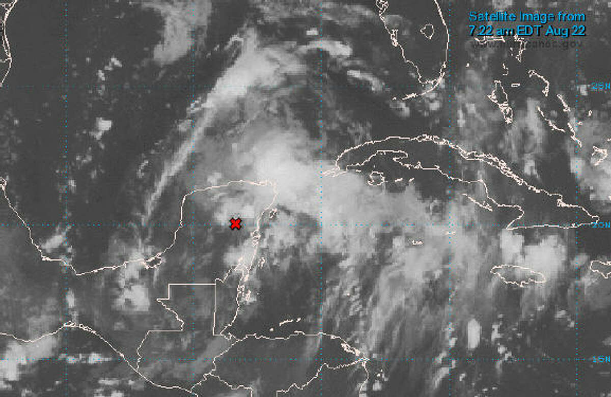 Tuesday, Aug. 22, 2017 By Tuesday, Aug. 22, the National Weather Service said that the remnants of Harvey, which had crossed over the Yucatan Peninsula, were likely to reform into a tropical storm or hurricane as it entered the warmer waters of the Bay of Campeche.