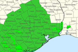 Saturday  , Aug. 26, 2017   By the time Harvey made landfall on Saturday morning, flash flood watches and warnings had been extended north to Freestone County with hurricane and tropical storm warnings in effect throughout the Houston area.