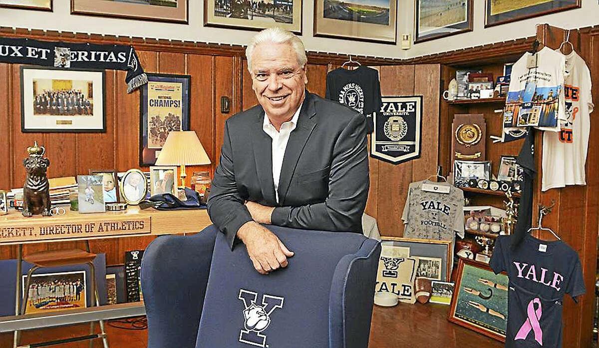 Yale Director of Athletics Thomas Beckett.