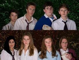 """Two different dramatizations of the classic William Golding novel """"Lord of the Flies"""" - one featuring a cast of boys and the other a company of girls - are being presented by the Bridgeport Theatre Company."""