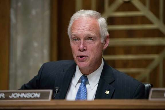 "In this Aug. 1, 2017 photo, Sen. Ron Johnson, R-Wis., chairs a Senate Foreign Relations subcommittee hearing on Steve King, a prominent GOP insider from Wisconsin, nominated to be ambassador to the Czech Republic, on Capitol Hill Washington.  An intriguing new theory is gaining traction among ""Obamacare's"" conservative foes: The Medicaid expansion to low-income adults under former President Barack Obama's Affordable Care Act may be fueling the opioid epidemic. If true, that would represent a shocking outcome for government policy. But there's no evidence that's happening, say university researchers who have long studied the drug problem. Some say Medicaid may be having the opposite effect, helping mitigate the epidemic.  (AP Photo/J. Scott Applewhite)"
