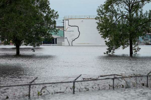 "The Arkema chemical plant in Crosby was under 7 feet of water days after Hurricane Harvey made landfall. ""FEMA's 500-year flood map doesn't address the situation that occurred during Hurricane Harvey,"" company spokeswoman Janet Smith said."