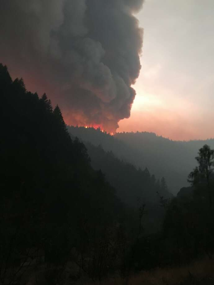 The Helena Fire began Aug. 30 and quickly spread to thousands of acres, according to fire officials. Photo: Cal Fire