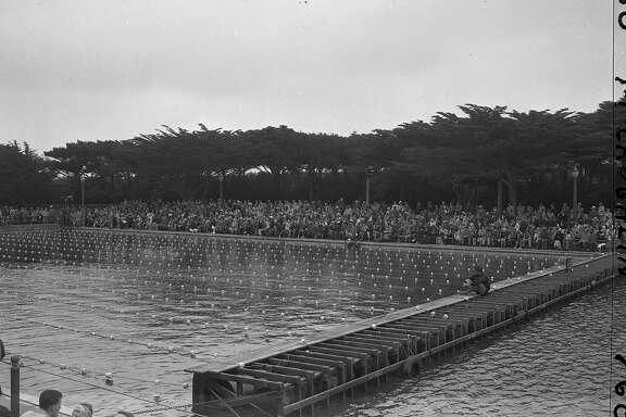 Fleishhacker Pool  07/19/1949