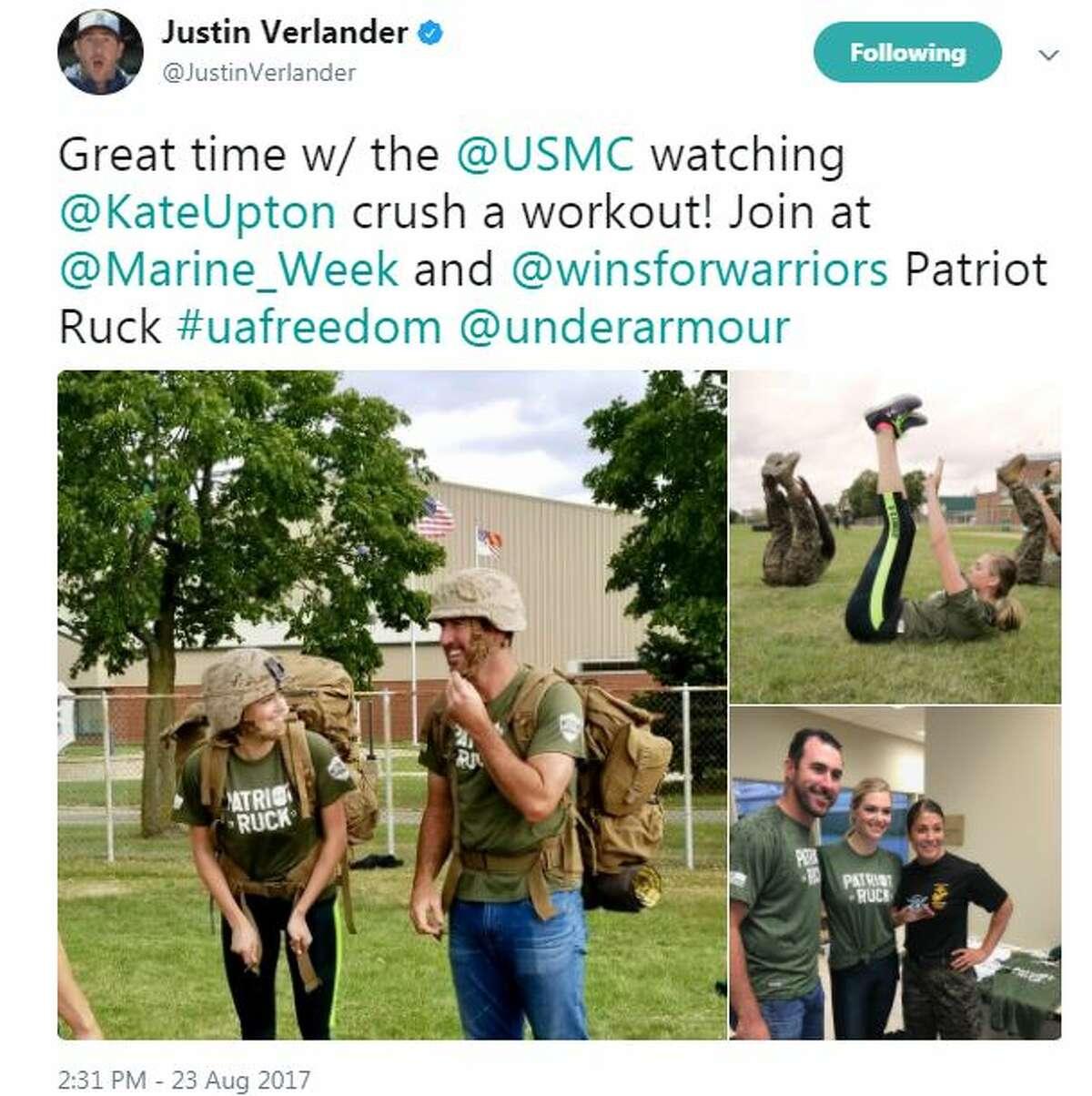 Justin Verlander Twitter post.
