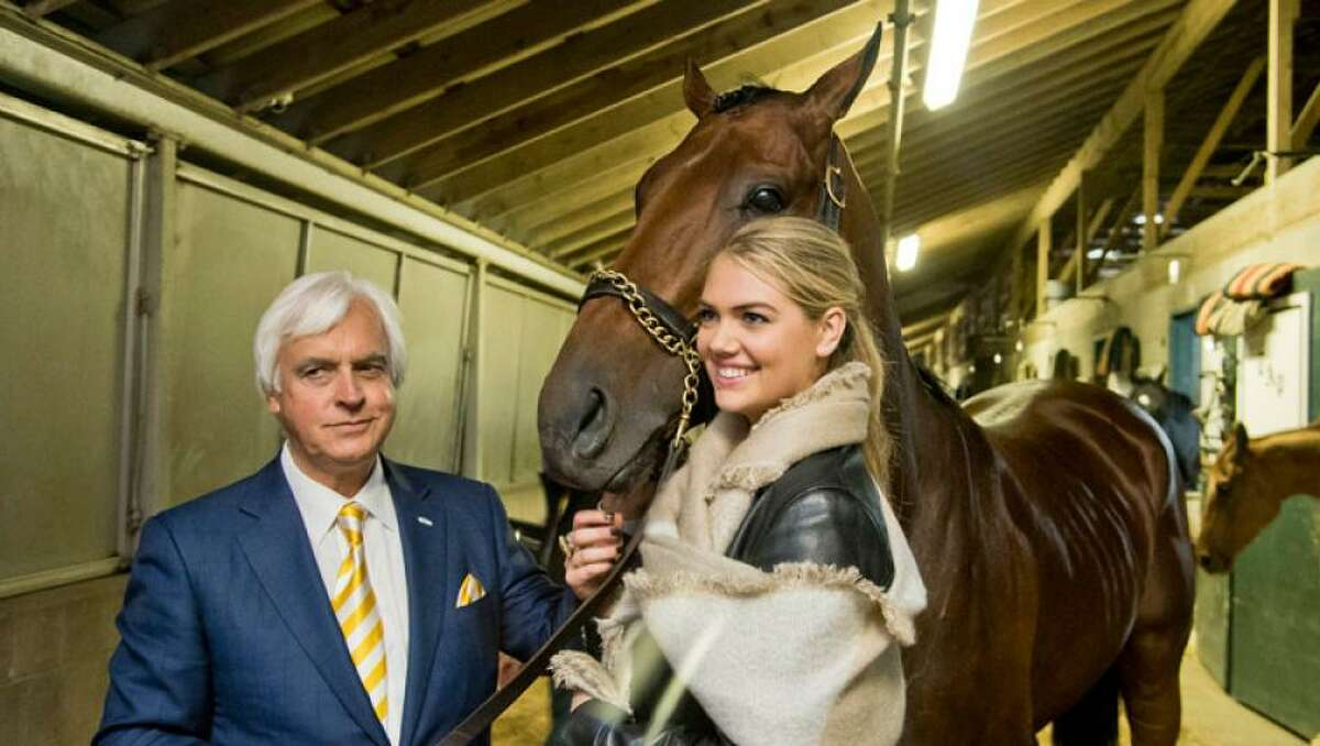 Kate Upton at the Breeders' Cup.
