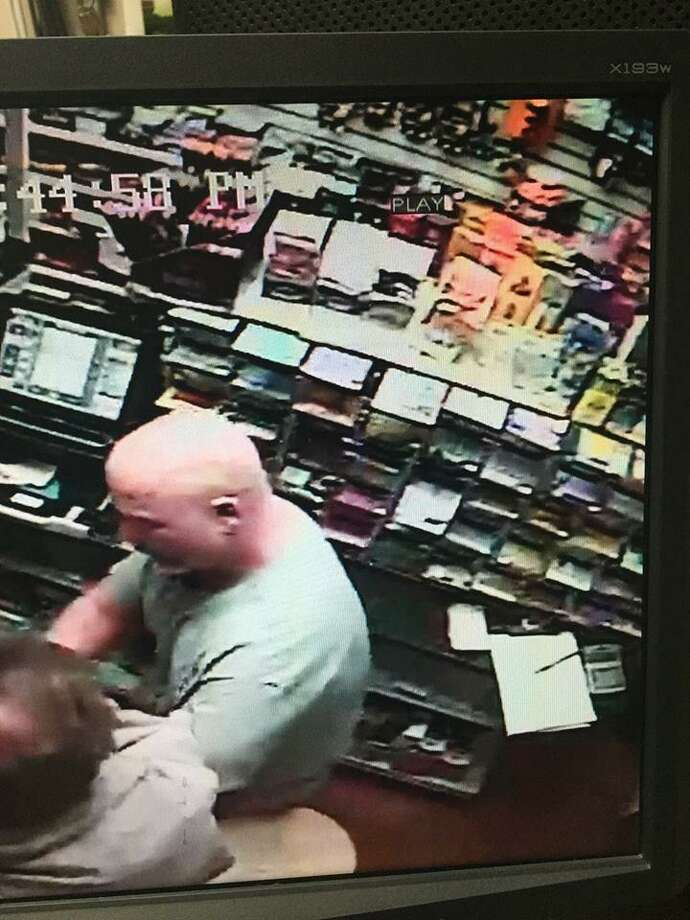 Photographed is a suspect police said robbed the Gulf gas station in downtown Bethel on Aug. 31. Photo: / Contributed