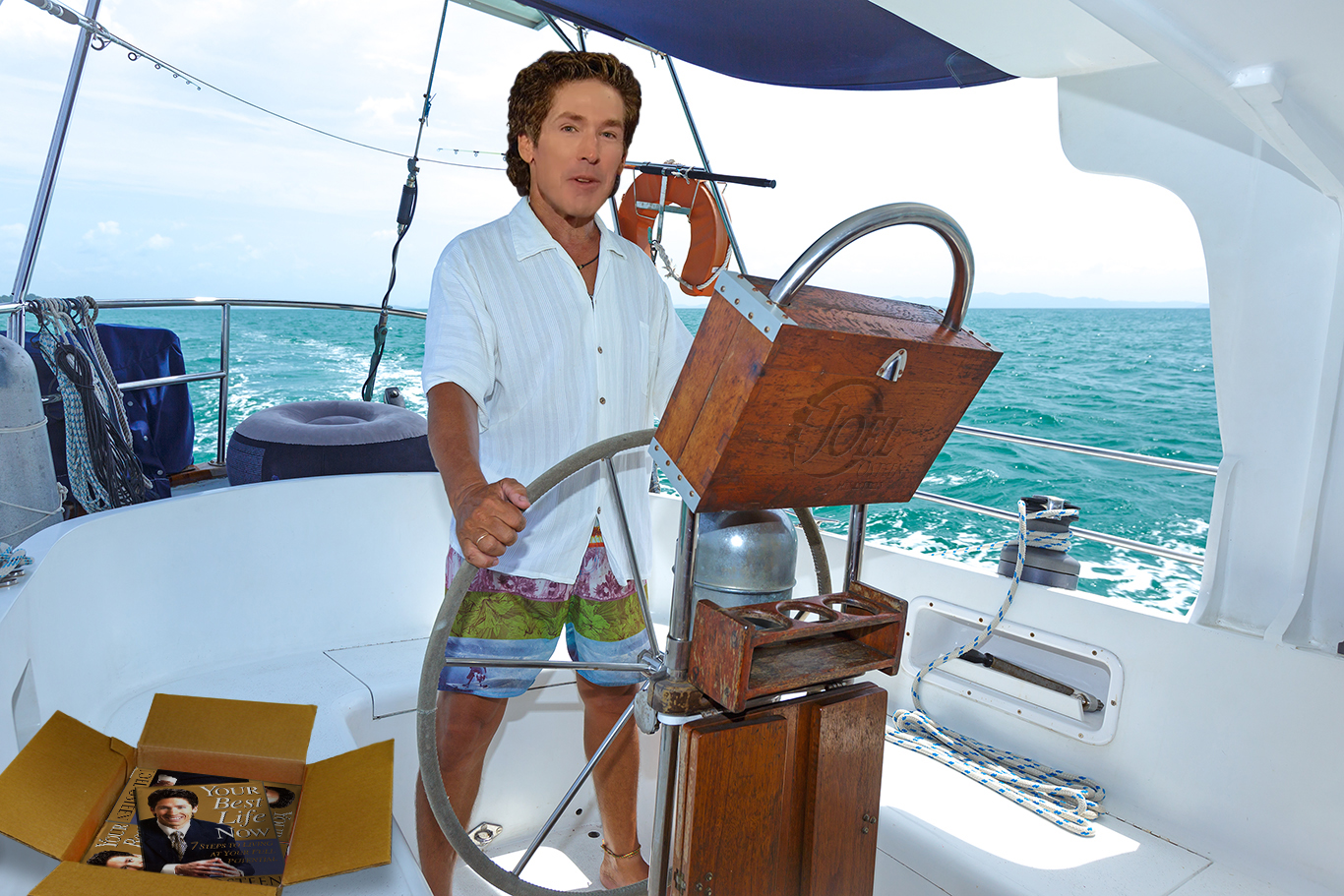 Debunked Fake Joel Osteen Yacht Story Spreads After Hurricane