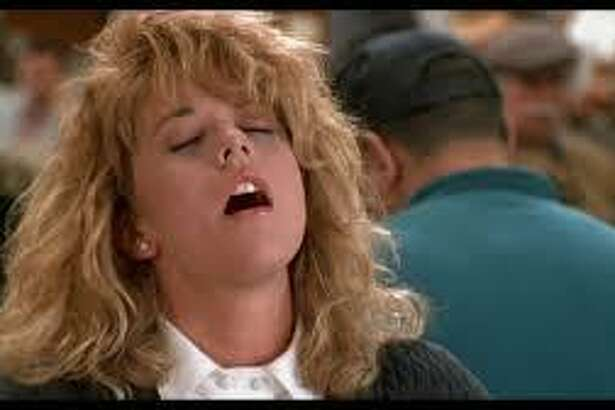 """Meg Ryan let it all hang out in the throes of the famous orgasm scene in """"When Harry Met Sally."""""""
