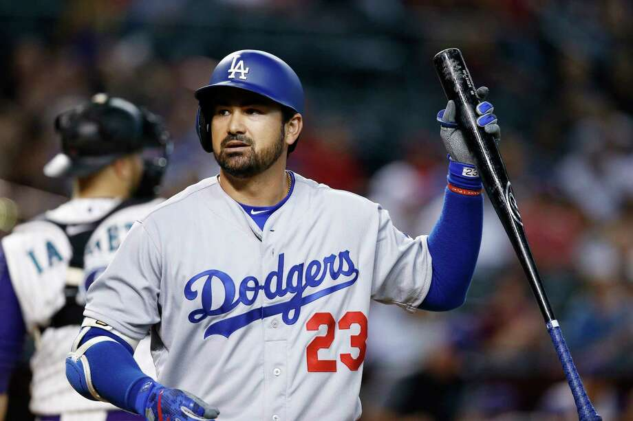 Unloading the contracts of Adrian Gonzalez and some other high-paid players was the objective behind the trade that sent the first baseman from Boston to Los Angeles. Photo: Ross D. Franklin, Associated Press / Copyright 2017 The Associated Press. All rights reserved.