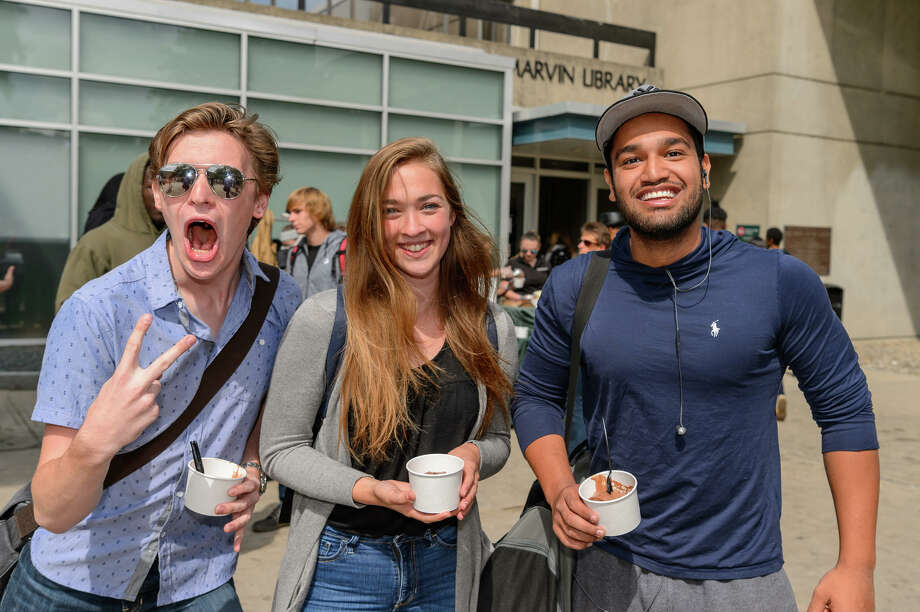Were you Seen at Hudson Valley Community College's Welcome Week from Aug. 28 through Sept. 1? Photo: Vincent Giordano For HVCC