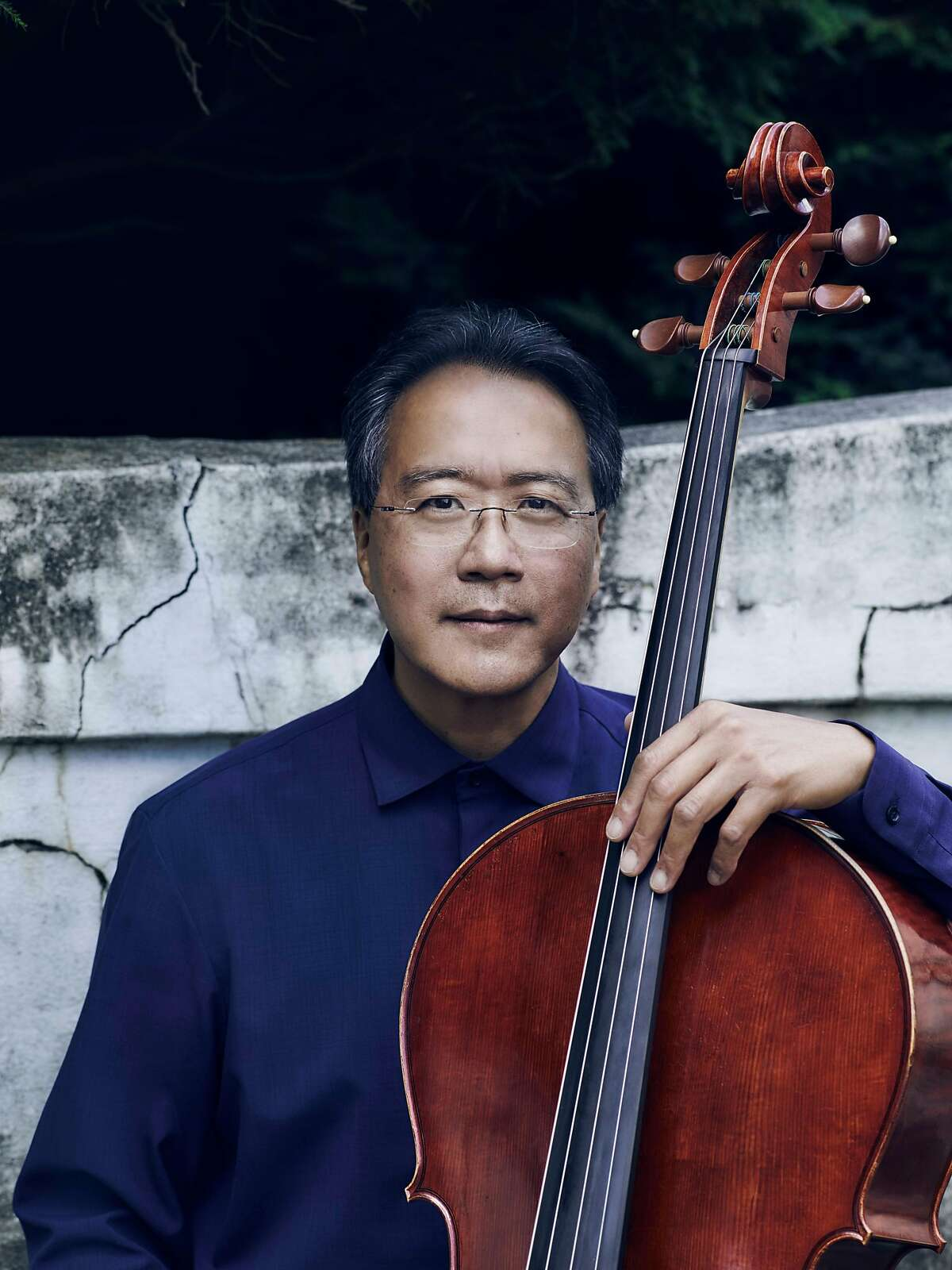 Cellist Yo-Yo Ma is the soloist for the SF Symphony's season-opening gala concert, Thursday night at Davies Symphony Hall